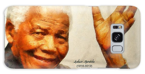 Mandela Farewell Galaxy Case by Wayne Pascall