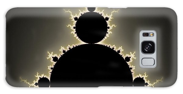 Mandelbrot Set Square Format Art Galaxy Case