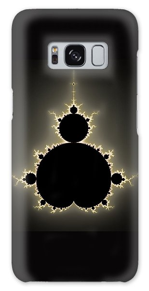 Mandelbrot Set Square Format Art Galaxy Case by Matthias Hauser