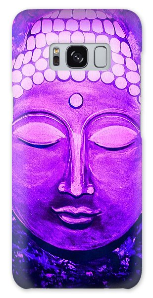 Galaxy Case featuring the painting Mandi's Buddha by Michelle Dallocchio