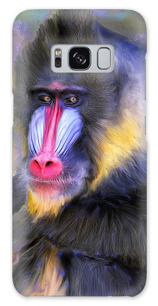 Mandrill Galaxy Case