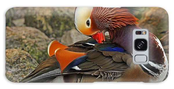 Mandrin Duck Galaxy Case
