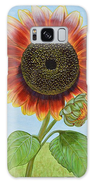 Mandy's Magnificent Sunflower Galaxy Case by Donna  Manaraze