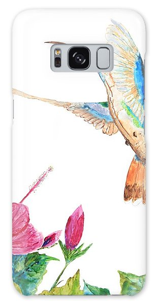 Mango Hummingbird Galaxy Case