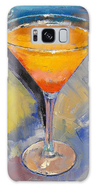 Mango Martini Galaxy Case by Michael Creese