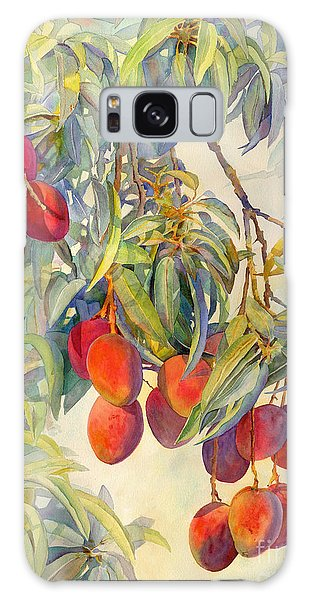 Mangoes In The Evening Light Galaxy Case