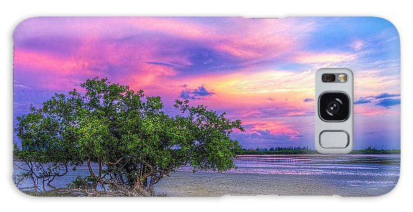 Beach Sunset Galaxy Case - Mangrove By The Bay by Marvin Spates