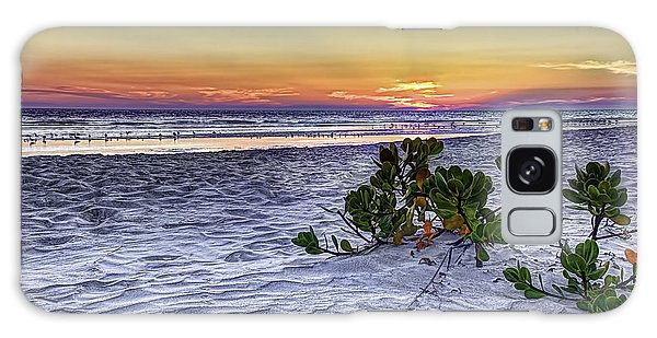 Mangrove On The Beach Galaxy Case by Marvin Spates