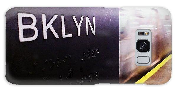 Manhattan And Brooklyn Galaxy Case by James Aiken