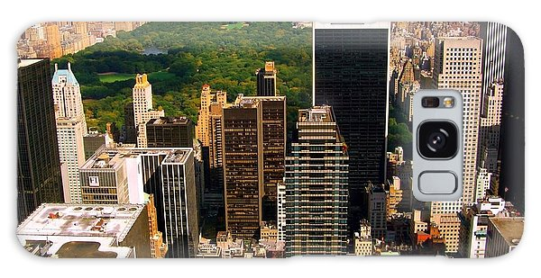 Manhattan And Central Park Galaxy Case