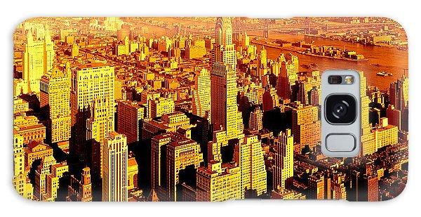 Manhattan And Chrysler Building Galaxy Case