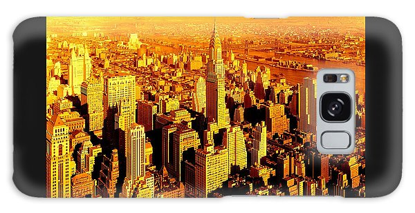 Manhattan And Chrysler Building Galaxy Case