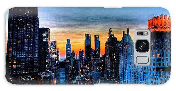 Manhattan At Sunset Galaxy Case