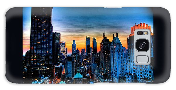 Manhattan At Sunset Galaxy Case