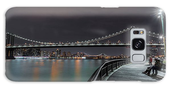 Manhattan Bridge - New York - Usa 2 Galaxy Case