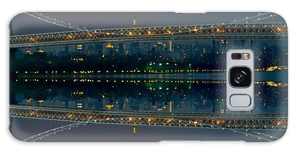 Manhattan Bridge New York Galaxy Case