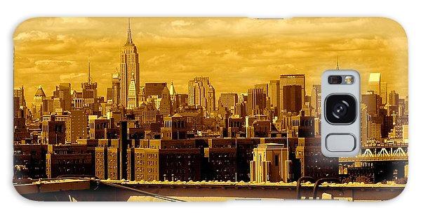 Manhattan Skyline Galaxy Case
