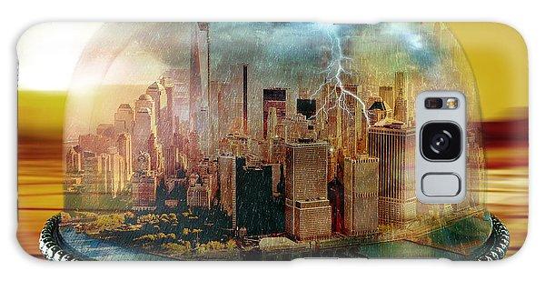 Manhattan Under The Dome Galaxy Case