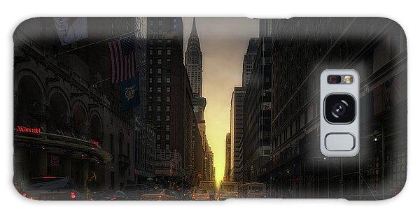 Chrysler Building Galaxy S8 Case - Manhattanhenge by David Mart?n Cast?n