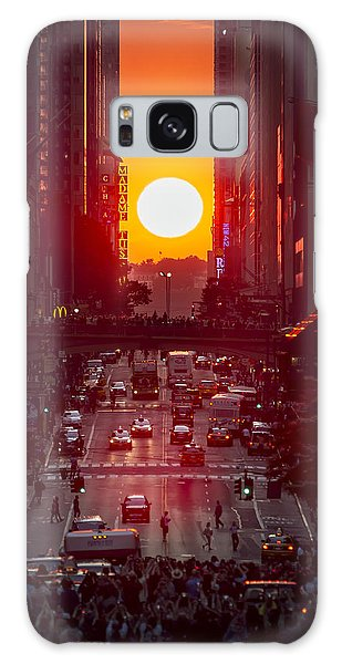 Manhattanhenge Galaxy Case