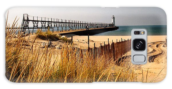 Manistee Lighthouse Galaxy Case