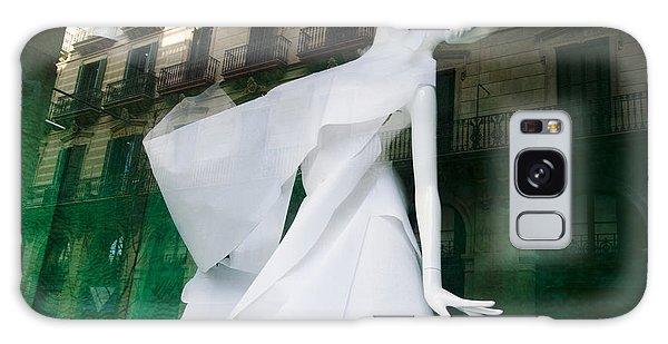 Buy Art Online Galaxy Case - Mannequin In Barcelona by Victoria Herrera