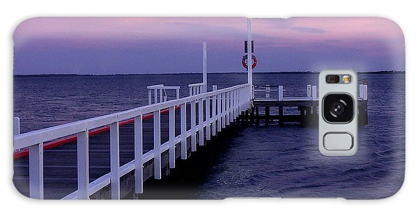 Manns Beach Jetty Galaxy Case