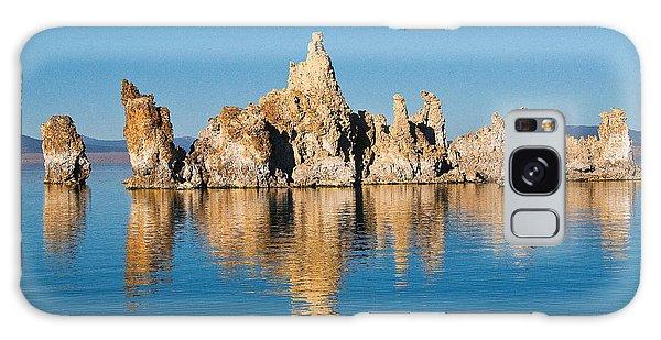 Galaxy Case featuring the photograph Mono Lake Tufa by Mae Wertz