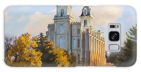 Manti Temple Galaxy Case