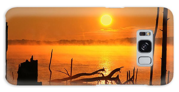 Mantis Sunrise Galaxy Case