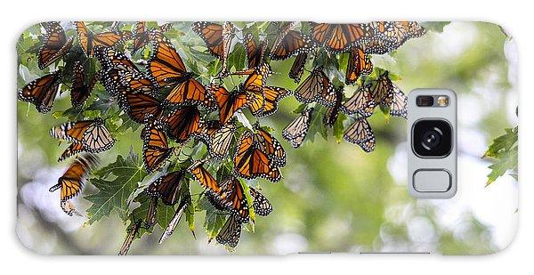 Many Migrant Monarchs Galaxy Case