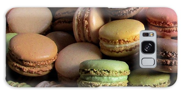 Many Mini Macarons Galaxy Case by Brenda Pressnall