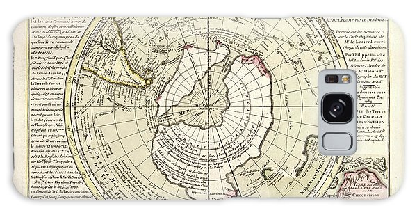 Language Galaxy Case - Map Of Antarctica by Library Of Congress, Geography And Map Division