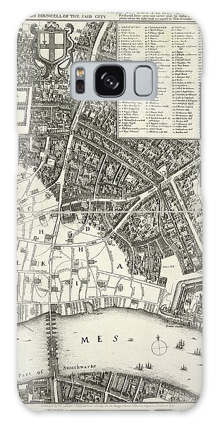 Map Of London Galaxy Case