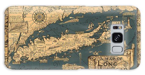 Map Of Long Island Galaxy Case