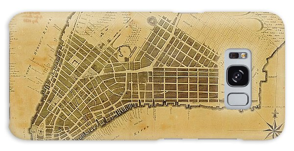 Usa Map Galaxy Case - Map Of New York City by American Philosophical Society