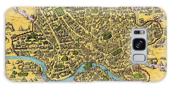 Art Institute Galaxy Case - Map Of Rome 1500s by Getty Research Institute