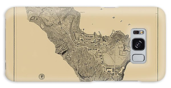 Map Of West Point 1883 Galaxy Case