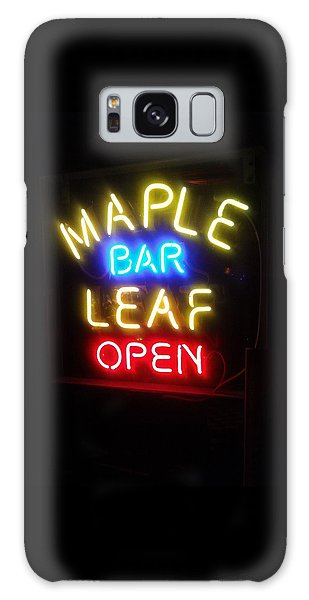 Maple Leaf Bar Galaxy Case