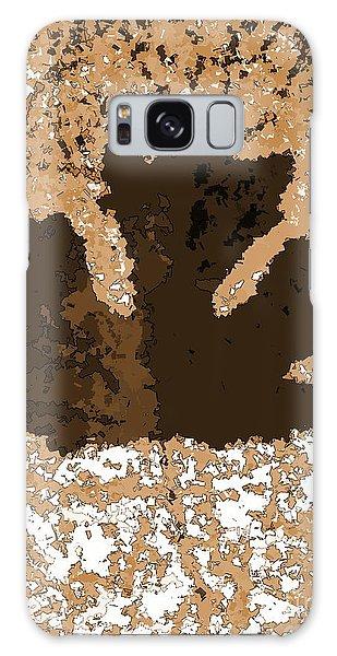 Maple Leaf Brown  Hues Galaxy Case