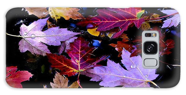 Maple Leaf Float Galaxy Case