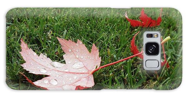 Maple Leaf In Canada Galaxy Case