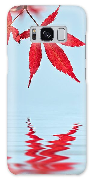 Maple Reflection Galaxy Case