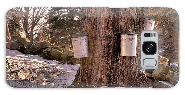 Maple Syrup Buckets Galaxy Case