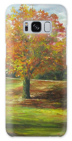 Maple Tree Galaxy Case by Gloria Turner