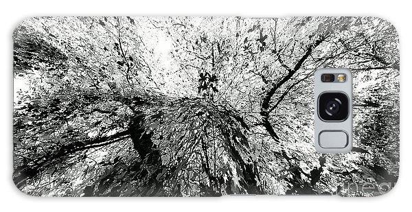 Maple Tree Inkblot Galaxy Case by CML Brown