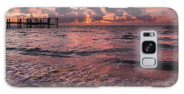 Cloudscape Galaxy Case - Marathon Key Sunrise Panoramic by Adam Romanowicz