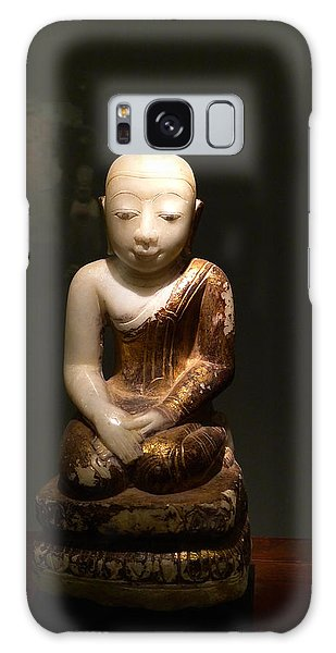 Buddhist Figure   Galaxy Case