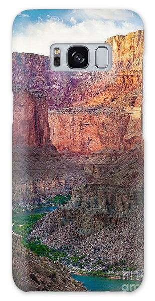 Southwest Usa Galaxy Case - Marble Cliffs by Inge Johnsson