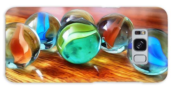 Marble Ducks Galaxy Case by Isabella F Abbie Shores FRSA